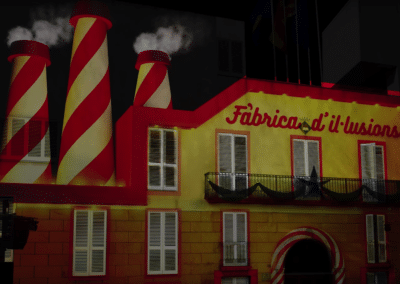 Video Mapping de Reyes Magos en Vila-Seca, Tarragona