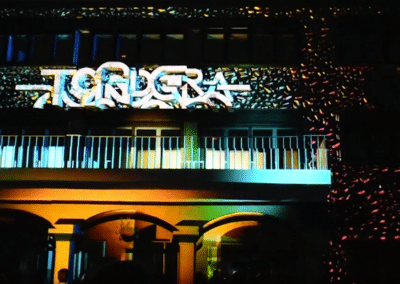 Video Mapping para Fiestas Mayores de Tordera en Barcelona