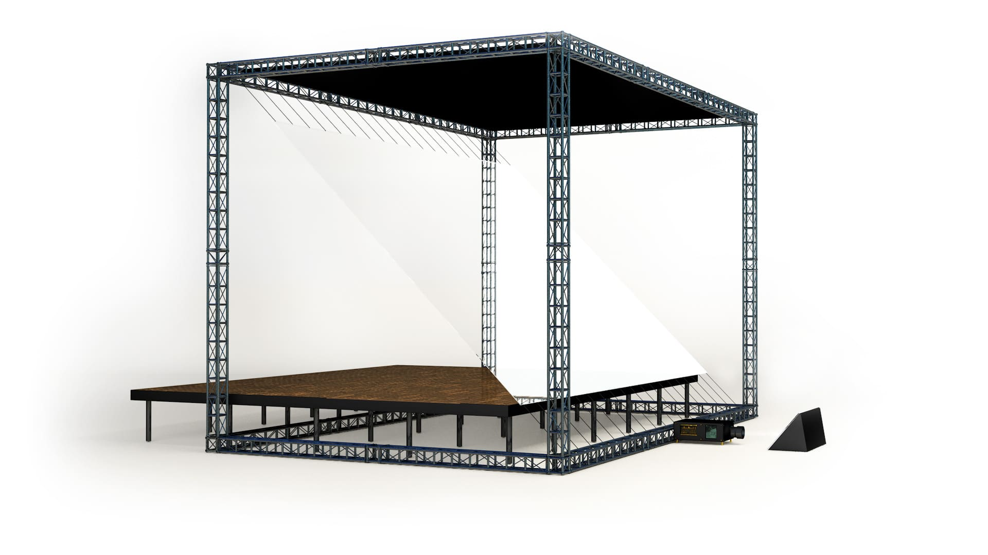 Holograma en escenarios