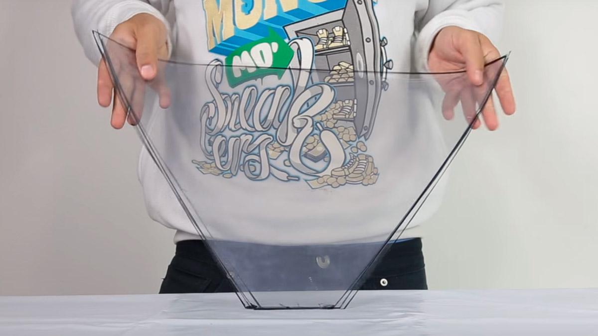 Explicación para hacer un holograma casero