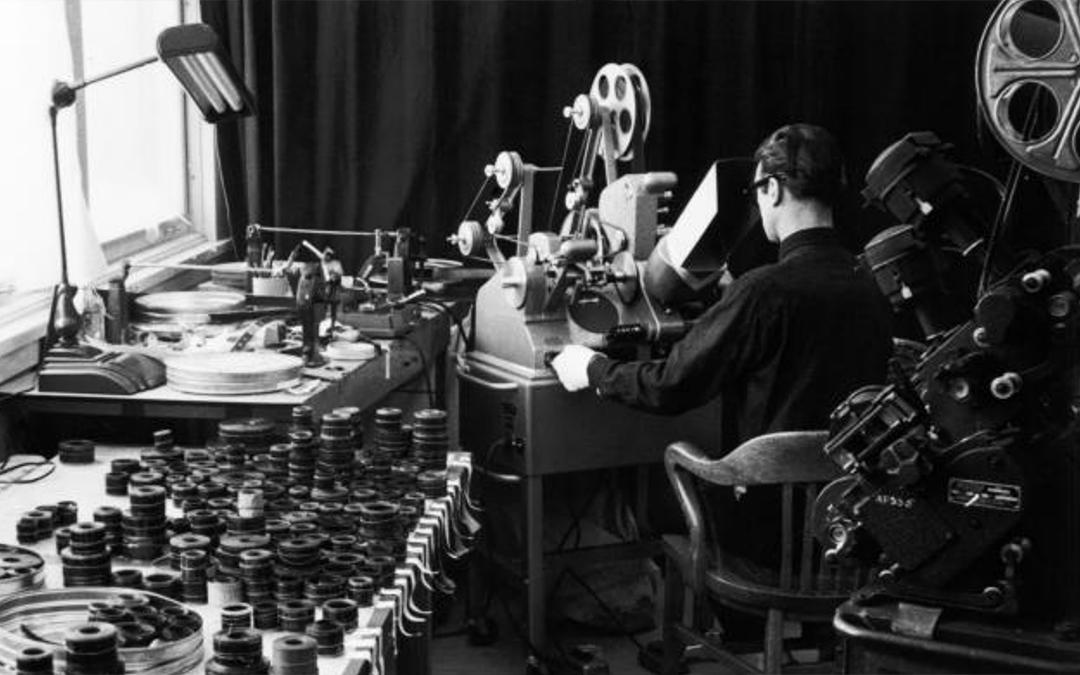 Historia del montaje cinematográfico