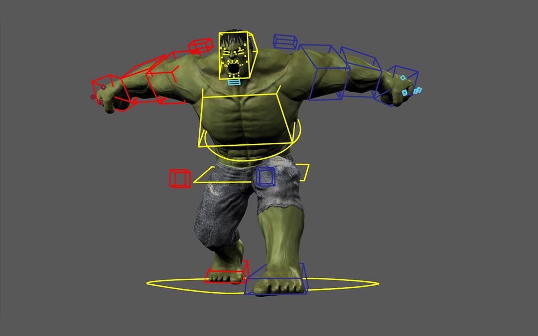 Rigging en animación