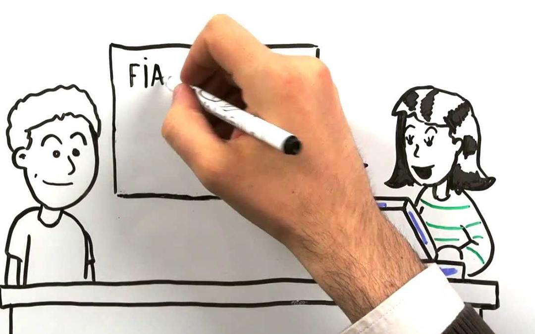 Video whiteboard