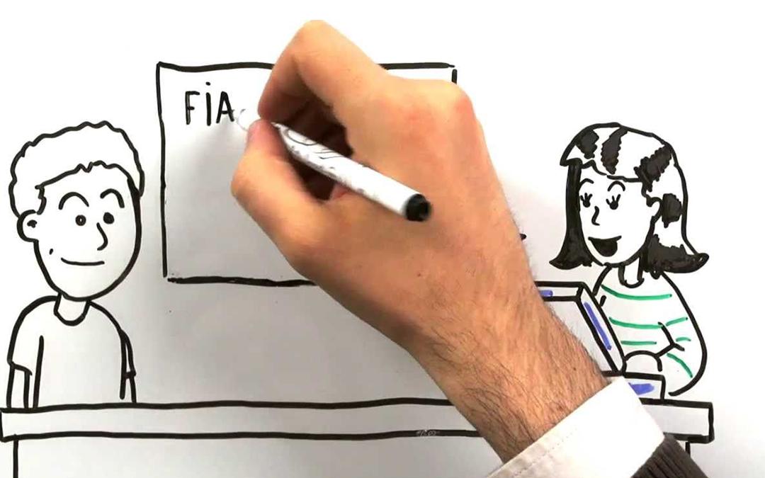 Video whiteboard